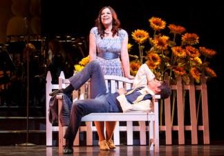 Lindsay Mendez (Helen) and Barton Cowperthwaite (Paris)