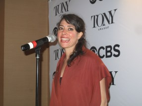 """Rachel Chavkin, Natasha, Pierre and the Great Comet of 1812, best direction of a musical. Asked if she preferred sing-through musicals -- which is what Great Comet and her Off-Broadway musical Hadestown are, she said: """"You don't have to deal with strange jump from speaking to singing. Living inside that score, it's wonderful we don't have to break its bones."""""""