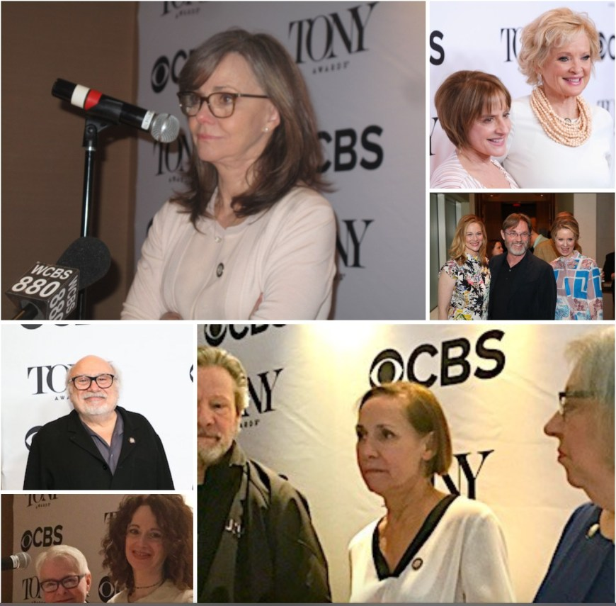 Tony nominees collages