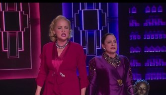 Cristine Ebersole and Patti LuPone in the number from War Paint