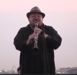 Clarinetist Dmitri Zisl Sleopovitch from Minsk, Belarus. Associate Musical Director of Amerike the Golden Land