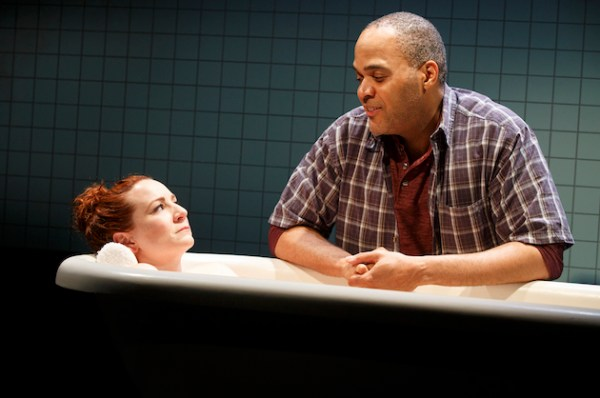 Katy Sullivan, Victor Williams. In Cost of Living, Eddie gave his disabled wife Ani a bath, and decided to serenade her with a piano concerto. There is no piano in the bathroom, and Eddie never learned to play anyway, much as he wanted to. But he takes her paralyzed arm from the water, drapes it on the bathtub's edge and plays her like a piano, synchronized with the radio broadcast. Opened in July