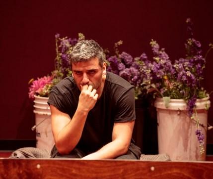Oscar Isaac as Hamlet
