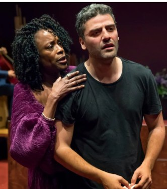 Hamlet Charlayne Woodard and Oscar Isaac