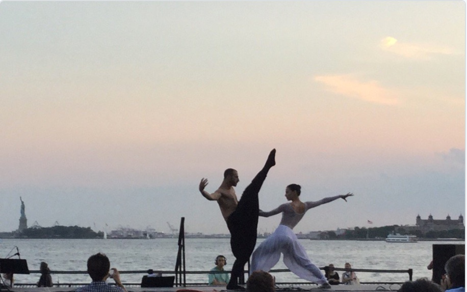 bEarth choreographed and performed by Sevin Ceviker with Fadi J Khoury