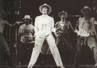 """""""Chita Riera and the prisoners sing and dance 'Where You Are' -- my favorite number in Kiss of the Spider Woman. (Photo by Martha Swope Billy Rose Theatre Division, The New York Public Library for the Performing Arts)"""""""