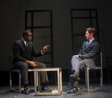 Freedom Riders 9 Guy Lockard as Martin Luther King Jr and Barry Anderson as Robert Kennedy