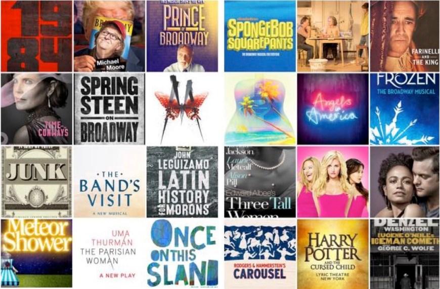 Broadway logos 2017 2018 updated