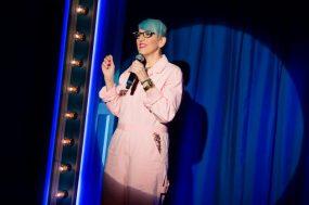 Lisa Lampanelli in STUFFED - photo by Jeremy Daniel 3