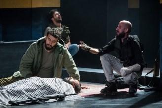 Faisal Abualhayjaa, Motaz Malhees, Alaa Abu Gharbieh, Hassan Taha (lying down)