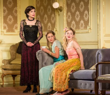 Elizabeth McGovern, Charlotte Parry and Anna Baryshnkov in 1919, in Time and the Conways
