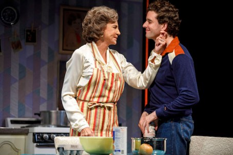 Mercedes Ruehl and Michael Urie