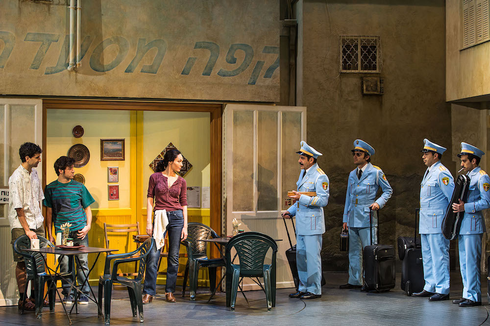 "In The Band's Visit, an Egyptian police band that's lost asks for directions from a bored café proprietor, Dina (Katrina Lenk) ""There is not Arab Center here,"" Dina replied. ""Not Israeli Culture, not Arab, not culture at all."" And then she Lenk launched into ""Welcome to Nowhere"" Opened in November"