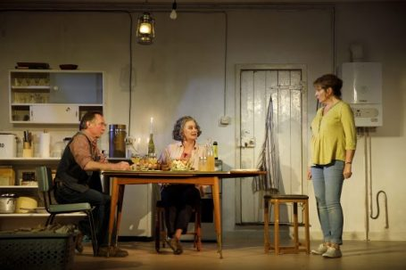 THE CHILDRENAmerican premiere by Lucy KirkwoodDirected by James MacdonaldWith Francesca Annis, Ron Cook, Deborah Findlay