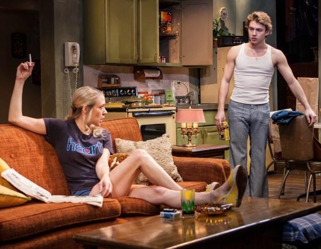 Chloe Sevigny as Mary, Advid Levi as her son.