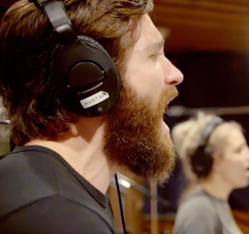 Jake Gyllenhaal and Annaleigh Ashford record Sunday in the Park with George...