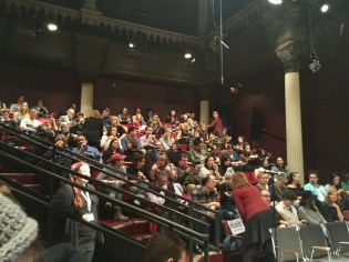 The Town Hall on sexual harassment in the theater community at the Public Theater
