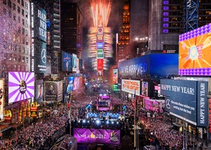 Times Square 2018 New Years