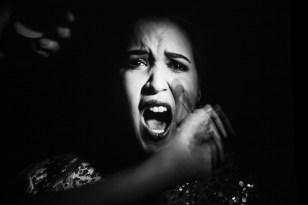 """Mikaela Bennett as Acquanetta in the opera """"Acquanetta"""""""