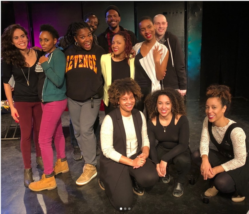 Fire This Time playwrights and performers