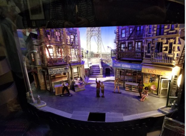 "A model of the original set of In The Heights,"" on display at BroadwayCon 2018"