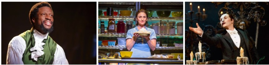 New Leads Hamilton, Waitress, Phantom