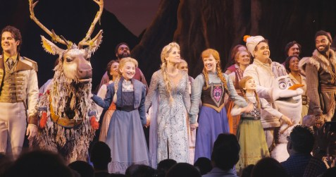 FROZEN Company at First Broadway Performance