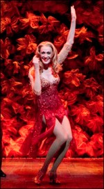 Jan Maxwell (Phyllis Rogers Stone) and Gentlemen of the Ensemble in Follies