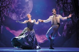 Frozen 11 Patti Murin (Anna) and John Riddle (Hans) in FROZEN on Broadway. Photo by Deen van Meer