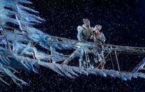 Frozen 7 Jelani Alladin (Kristoff) and Patti Murin (Anna) in FROZEN on Broadway. Photo by Deen van Meer