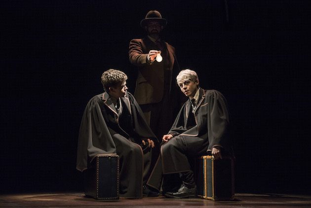 Sam Clemmett as Albus Potter (Harry's son), Brian Abraham and Anthony Boyle