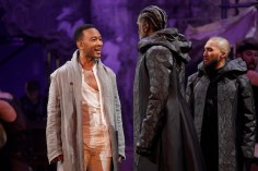 "John Legend as Jesus, Norm Lewis as Caiaphas, Jin Ha as Annas (""Hosanna"")"