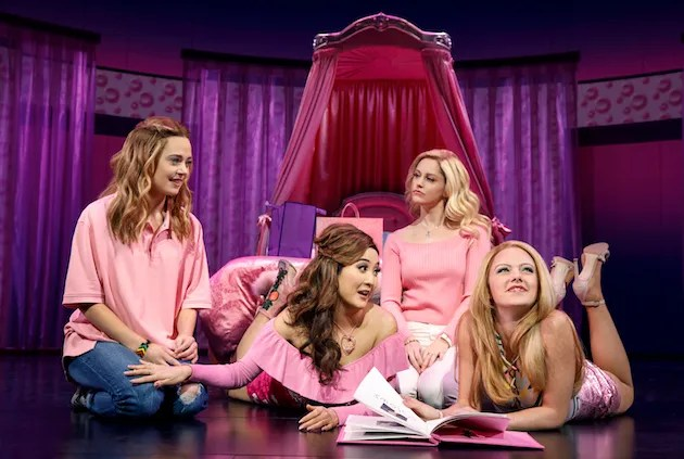 Cast of Mean Girls