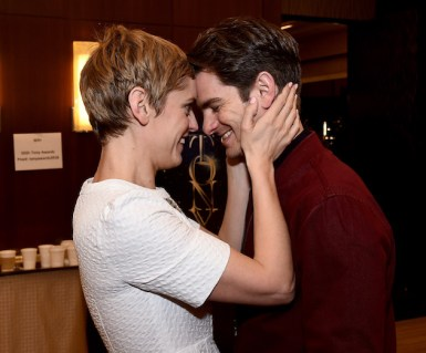 Denise Gough and Andrew Garfield, from Angels in America