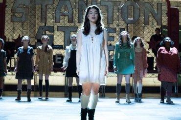 "RISE -- ""Opening Night"" Episode 110 -- Pictured: Auli'i Cravalho as Lilette Suarez, portraying Wendla in Spring Awakening -- (Photo by: Virginia Sherwood/NBC)"
