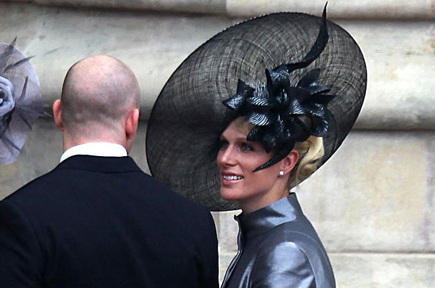 Zara Phillips daughter of Princess Anne