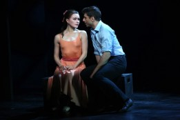 Irina Dvorovenko and Tony Yazbeck.in the beast in the Jungle
