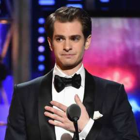 "8. ""We are all sacred, and we all belong,So let's just bake a cake for everyone who wants a cake to be baked."" -- the end of a long, emotional acceptance speech by Andrew Garfield, who dedicated his award for Angels in America to the countless LGBTQ people who have fought and died to protect"" the ""spirit..that says no to oppression."""