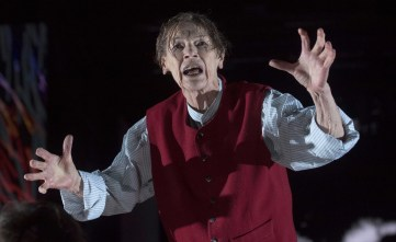"Glenda Jackson in the 2016 UK production of ""King Lear."""