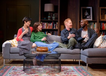 Cindy Cheung, Dolly Wells, Jesse Tyler Ferguson & Phillip James Brannon