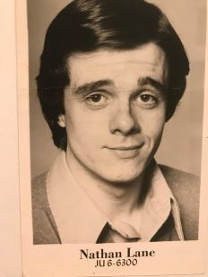 Nathan Lane grew up in Jersey City