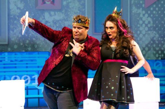 Josh Lamon as Prince and Lesli Magherita as Princess