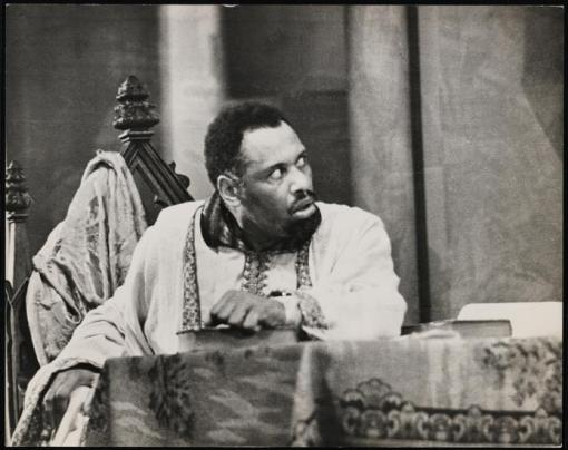 Paul Robeson in Othello, 1943
