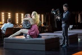 Guillaume Gallienne (Friedrich Bruckmann), Elsa Lepoivre (Baronne Sophie Von Essenbeck) in Ivo van Hove's The Damned