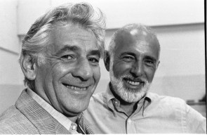 Leonard Bernstein and Jerome Robbins