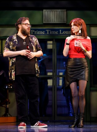 Jay Klaitz as Bart and Marilu Henner as Sharon, Mitch's mother