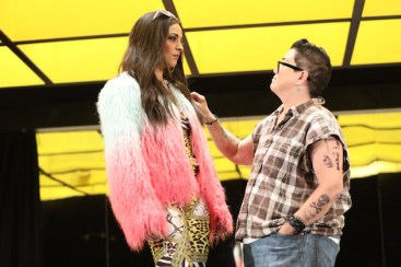 Ana Villafane and Lea DeLaria