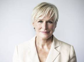 Glenn Close as the mother of Joan of Arc