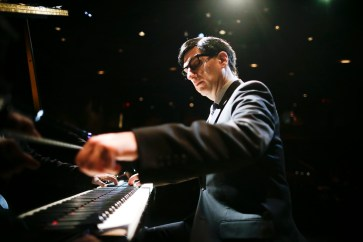 Hershey Felder as Irving Berlin for calendar