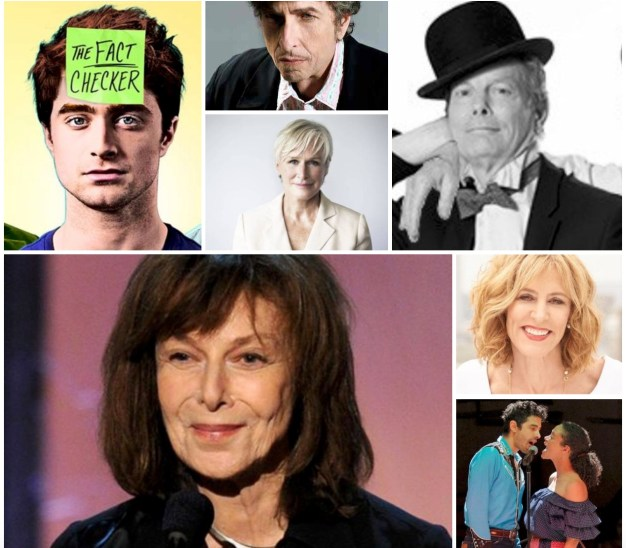 October 2018 calendar collage